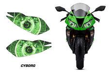 AMR Racing Head Light Eyes Kawasaki Ninja ZX6R 2013-2014 Headlight Parts CYBORG