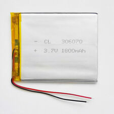 3.7V 1800mAh LiPo Polymer Battery power For GPS PSP mobile camera DVD 306070