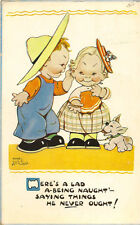 CHILDREN :There's a lad a-being naught' - ......-MABEL LUCY ATTWELL-VALENTINE'S
