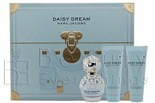Marc Jacobs Daisy Dream 3PC Gift Set 1.7oz EDT+2.5oz B/L+2.5oz S/G For Women NIB