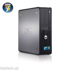 Dell 780 Barato Windows 7 PC Intel Core 2 Duo 2 GB RAM 80GB HDD DVD Wifi ordenador
