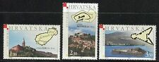 CROATIA 2005 FORTRESS/ARCHITECTURE/CASTLES/MOUNTAIN/SEA/MAPS/ILOK/MOTOVAN/ MNH