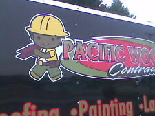 TRAILER LETTERING UP TO 56 SQ. FT. custom decals vinyl letters