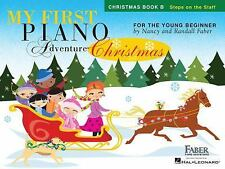 My First Piano Adventure  Christmas - Book B: Steps on the Staff  Paperback