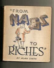 """FROM NAGS TO RICHES"" TEXT AND ILLUSTRATIONS BY ALAN SMITH HORSERACING 1942 HCDJ"