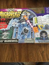 Batman and Robin Microverse Mr. Freeze Observatory Playset