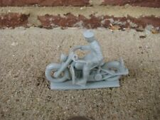 Marx Civilian Police Motorcycle Bike 1/48 Diorama Toy Solider