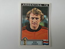 PANINI WORLD CUP STORY - N.120 - WC ARGENTINA 78 - JANSEN NEDERLAND
