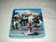 PLAYMOBIL 5366 FIRE RESCUE CREW WITH ACCESSORIES - BRAND NEW