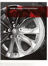 2015 Mazda 22-page Car Accessories Brochure - Mazda3 Mazda6 Cx-5 Miata Cx-9