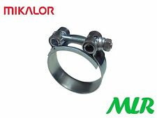 MIKALOR 86-91MM 3.5INCH HEAVY DUTY EXHAUST / BOOST HOSE CLAMP CLIP MLR.LF