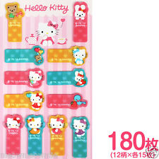 Hello Kitty Clear Memo Note Pads Sticky Post-it Page Marker / Sanrio Japan