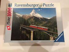 Ravensburger Matterhorn Train 1000 Pc. Jigsaw Puzzle #15 909 3 Swiss Collection