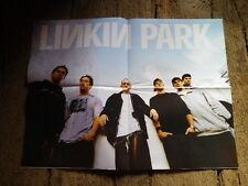 LINKIN PARK - Poster !!! Au verso : MICHEL VAILLANT (le film) !!!