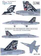 Syhart Decals 1/48 F/A-18C HORNET 2011 NATO TIGERMEET Swiss Air Force