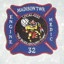 Madison Twp Fire Dept Patch - Engine 32 Medic - Madison Township - Indiana IAFF
