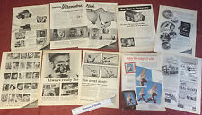 vtg Advertising Eastman Kodak Rochester NY Gadget 12 pages '50 '51 '63 Paper r3