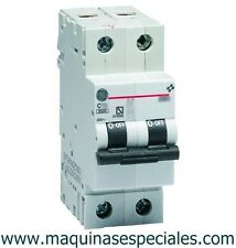Interruptor automático magnetotérmico 10A MCB circuit breaker General Electric.