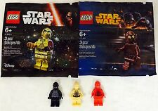 LEGO. Star Wars. 5 Different Protocol Droids. Rare. 10188.