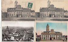 lot 4 cartes postales anciennes AIRE-SUR-LA-LYS