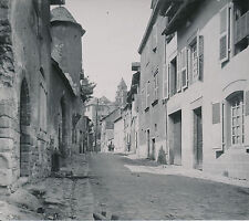 UZERCHE c. 1900-20 - Maisons rue de La Justice  Corrèze - DIV 6971