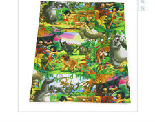 The Jungle Book Fabric 1m x 1.47m Poly Cotton