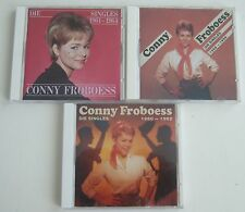 CONNY FROBOESS Die Singles 3xCD 1958-1959 1960-1962 1961-1964 Bear Family neuw.