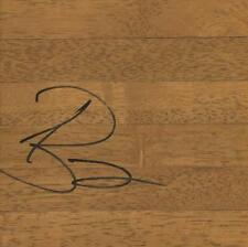 Andrea Bargnani Signed 6x6 Floorboard Knicks Raptors