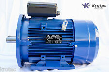 Electric motor single phase 240v 5.5kw 7hp 1460 rpm Flange Mount
