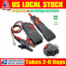 High&Low Voltage Underground Wall Wires Fault Locator Cable Finder Tools Black