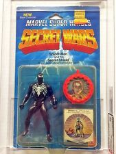 Marvel Super Heroes Secret Wars Spider-Man Black Costume AFA Y-80