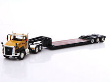 Norscot 55503 1/50 Cat CT660 Day Cab Tractor With Trail King Lowboy Trailer