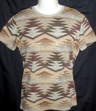 MENS AMERICAN EAGLE GEO TRIBAL CLASSIC FIT T-SHIRT SIZE XL