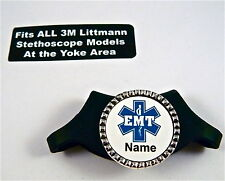 STETHOSCOPE ID TAG, FITS ALL LITTMANN MODELS,MEDICAL,NURSE,RN,EMS,ER,MIDWIFE