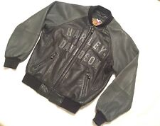 HARLEY DAVIDSON® MOTORCYCLE 100th Year Anniversary Leather Jacket Coat Men's Med