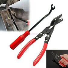 2x Car SUV Off-road Door Card Panel Trim Clip Removal Uphostery Pry Bar Tool Kit