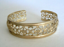 Filigree Vintage Bracelet From West Germany Light Weight Never Worn One Size Fit