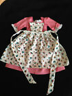 American Girl Felicity's Spring Gown with Apron Pleasant Company 1997. Retired!