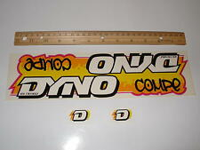 NOS OLD SCHOOL BMX DYNO COMPE DECALS STICKERS