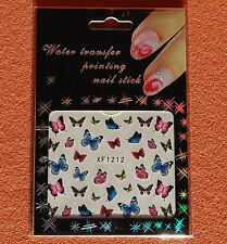 3D Design Nail Sticker XF1212