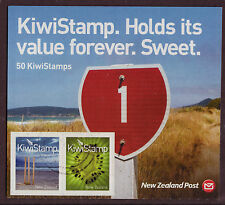 NEW ZEALAND 2009 NEW KIWI STAMPS SHEETLET OF 50 FINE USED PANE