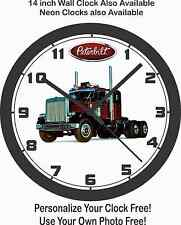 1972 PETERBILT SEMI-TRUCK WALL CLOCK-FREE USA SHIP