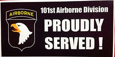 101 ST. AIRBORNE PARATROOPER DECAL STICKER