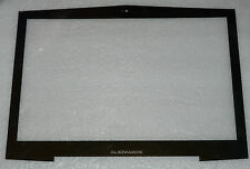 BRAND NEW GENUINE DELL ALIENWARE M17X R1 R2 FRONT LCD BEZEL / GLASS BLACK