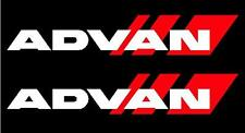 2x ADVAN Premium Side Decals Stickers, jdm, yokohama