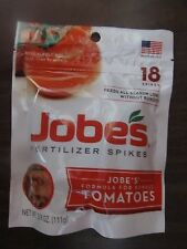 Fertilizer Spikes For Robust Tomatoes Jobes # 06005  18 Spikes  NEW