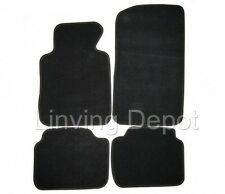 Fit For 1999-2005 BMW E46 3-Series  Floor Mats Carpet Front Rear Nylon Black