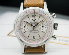Wittnauer 3256 Vintage Manual Chronograph SS