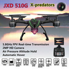 Aggiornato JXD 510G RC Droni Quadcopter con 2MP Camera HD 5,8G FPV Elicottero