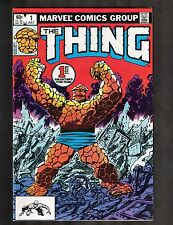 The Thing #1 ~ 1st Collectors Item Issue / Marvel Comics 1981 ~ (8.0) WH
